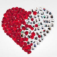 Vyfotografujte se u největšího valentýnského srdce