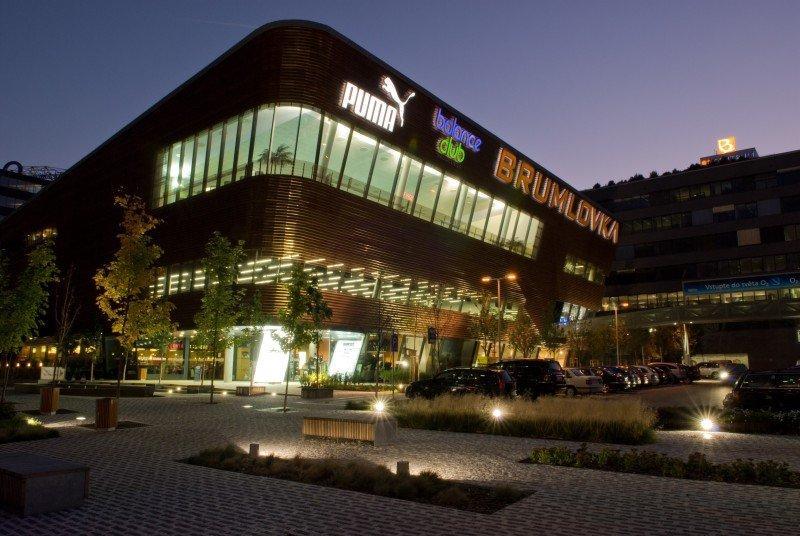 BB Centrum, budova Brumlovka -