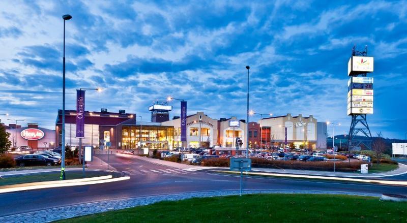 Obchodní centrum Olympia - Plzeň -