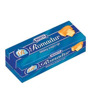 měkký zrající sýr Romadur 40%, bez příchutě