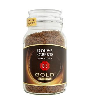 instantní káva Douwe Egberts Gold, různé druhy