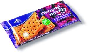 Albert Ovocné sušenky, vybrané druhy