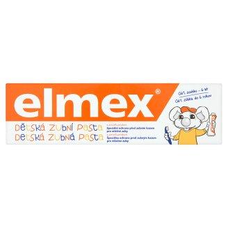 Elmex Dětská zubní pasta, vybrané druhy