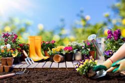 Jarní práce na zahradě
