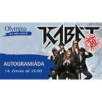 Autogramiáda skupiny Kabát v OC Olympia Teplice