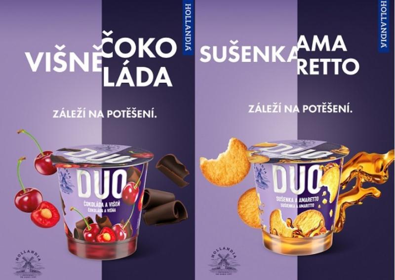 Mlékárna Hollandia přichází  s novým jogurtovým výrobkem!