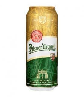 Pilsner Urquell 12°, světlý ležák (plechovka)