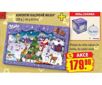 adventni kalendar milka ARCHIV | Adventní kalendář Milka, 200 g v akci platné do: 30.11  adventni kalendar milka