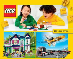 Leták Tesco Lego katalog Jaro 2021
