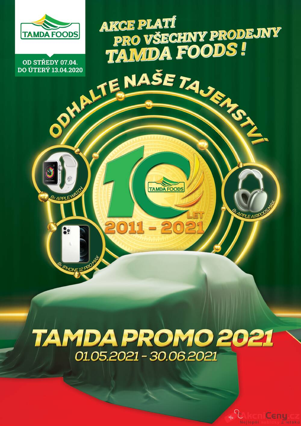 Leták Tamda Foods - Tamda Foods od 7.4. do 13.4.2021 - strana 1