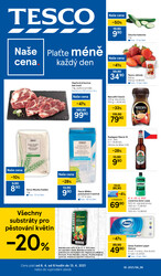 Leták Tesco malé hypermarkety od 6.4. do 13.4.2021