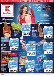 Leták Kaufland 14.4. - 20.4. - Kaufland - Jablonec nad Nisou (U Kostela)