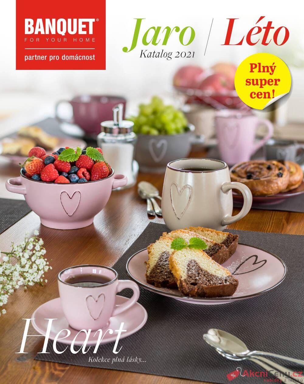 Leták BANQUET  - BANQUET katalog Jaro-Léto od 30.4. do 31.8.2021 - strana 1