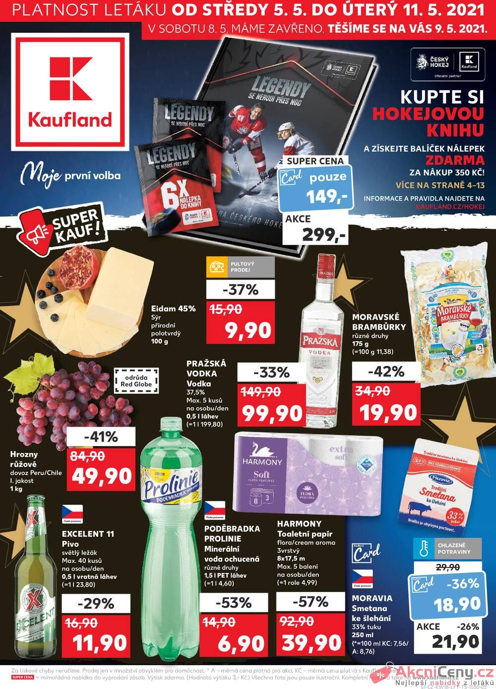 Leták Kaufland - Kaufland 5.5. - 11.5. - Kaufland - Ostrava - Zábřeh - strana 1
