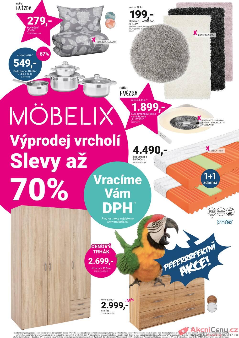 Leták Möbelix - Möbelix od 19.7. do 1.8.2021 - strana 1