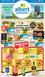 Leták Albert Supermarket od 21.7. do 27.7.2021
