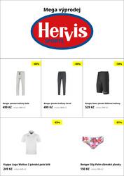Hervis : 1 leták