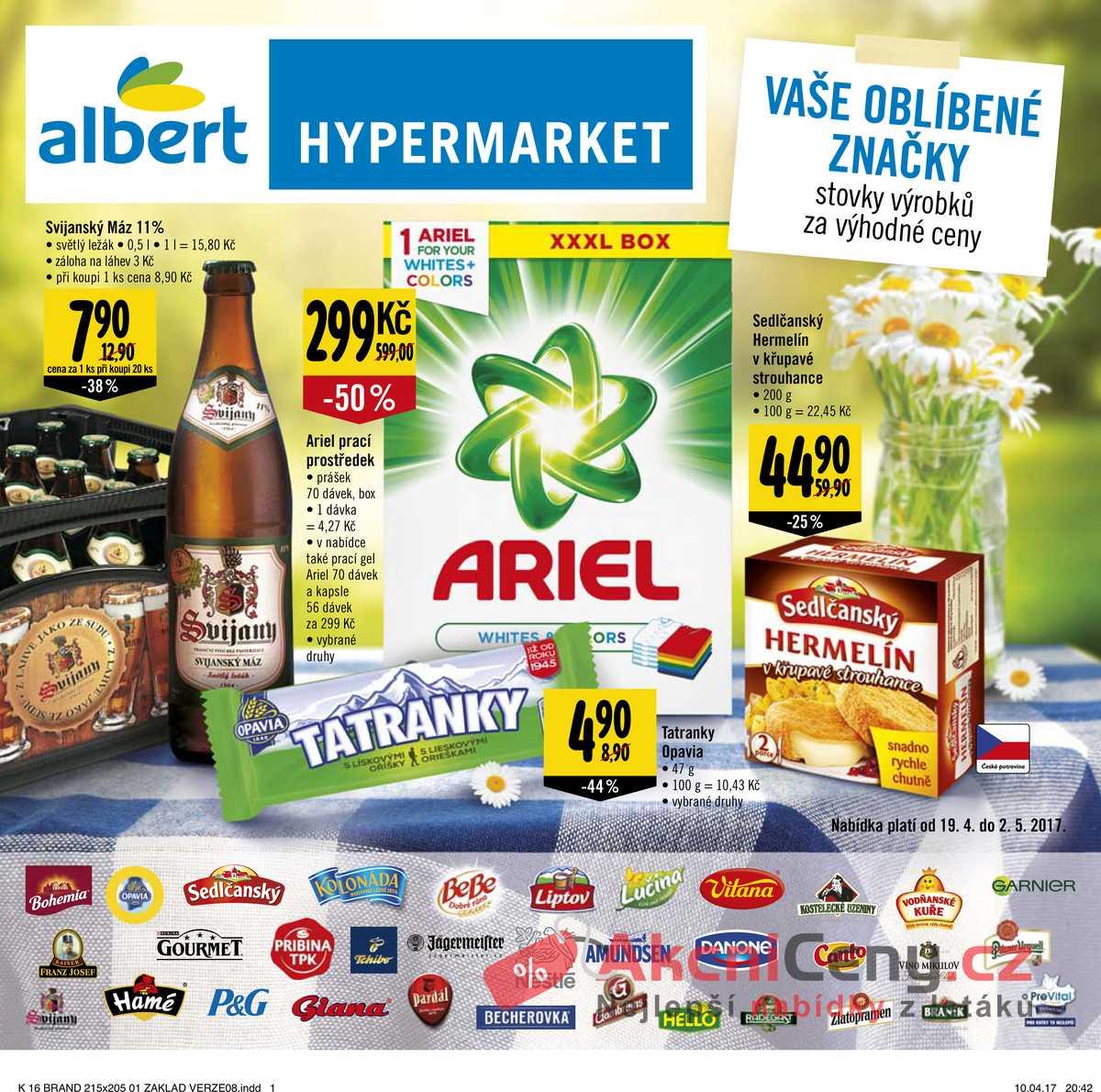 Leták Albert Hypermarket Katalog 19.4. - 2.5.