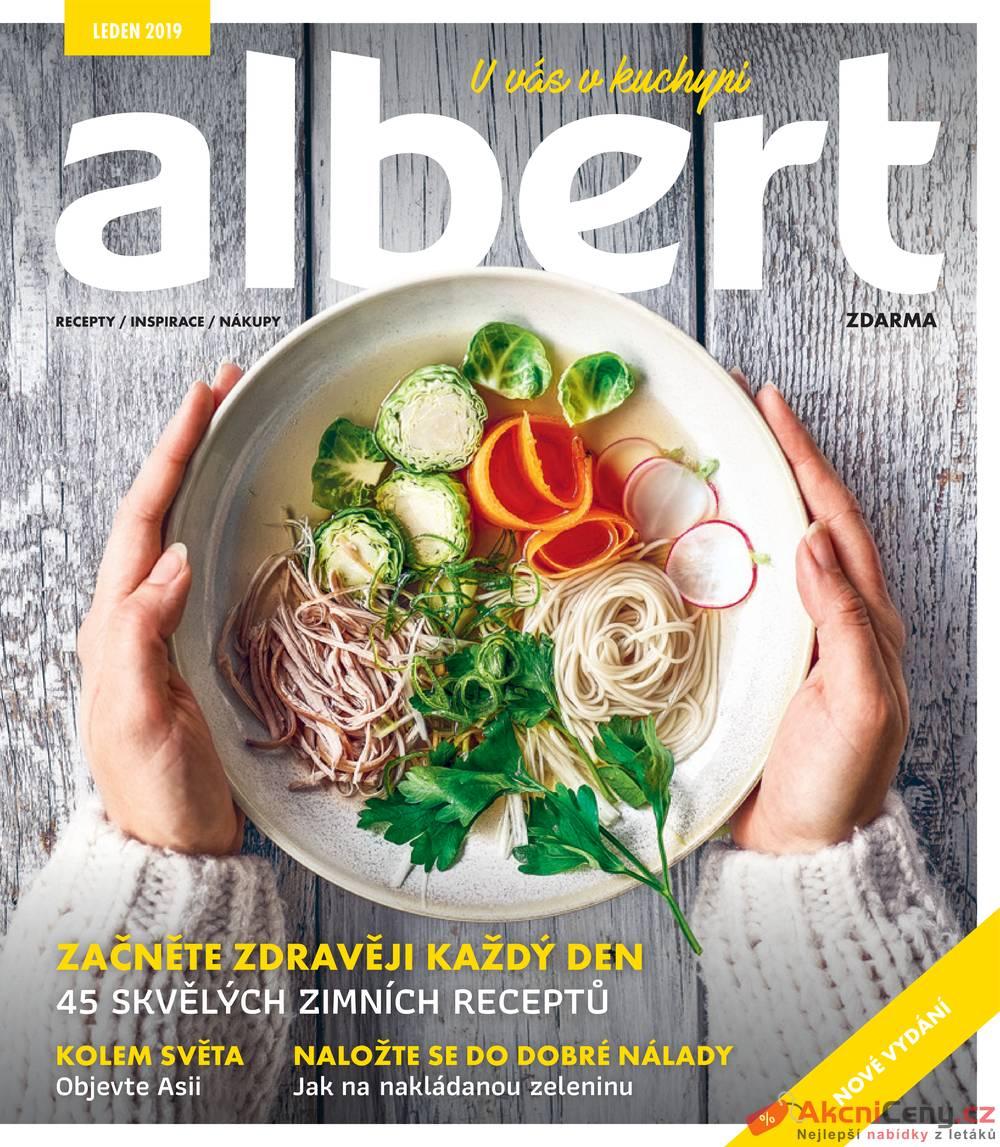 Leták Albert - Albert magazín 9.1. - 5.2. - strana 1