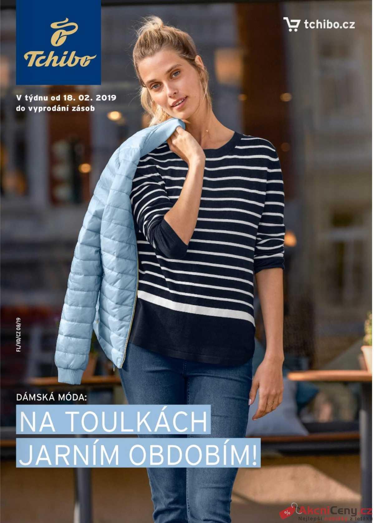 Leták Tchibo - Tchibo magazín 19.2. - 2.4. - strana 1 8b4e37c210
