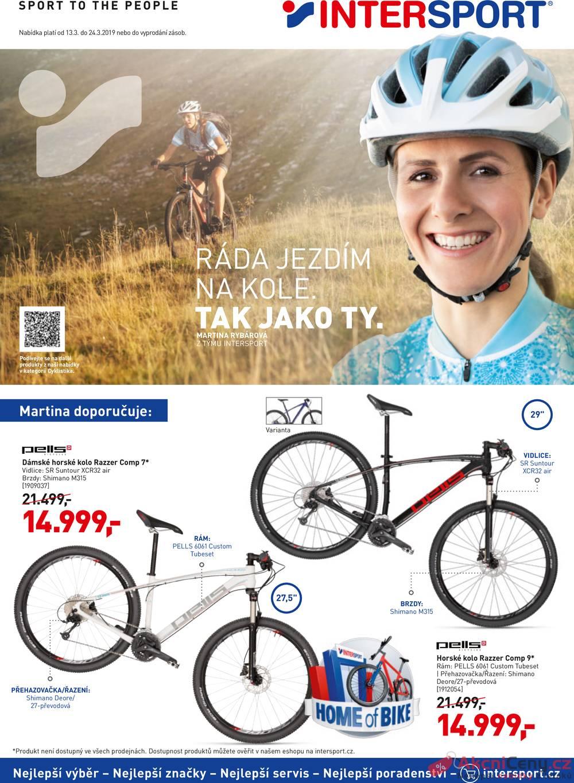 Leták Intersport - Intersport 13.3. - 24.3 - strana 1