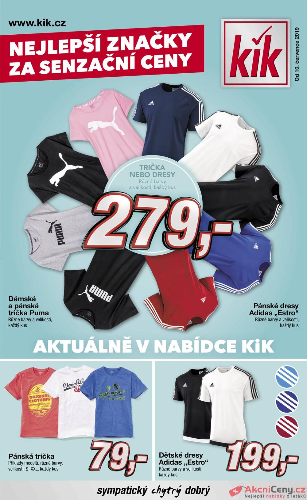 Leták KiK - KiK od 10.7. do 17.7.2019 - strana 1