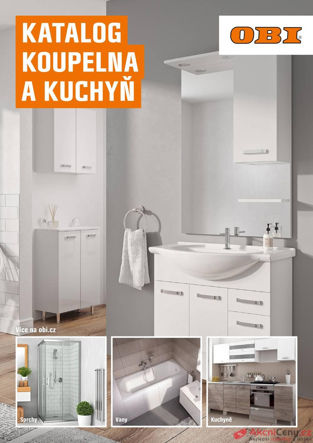Leták OBI - OBI Koupelna a kuchyň od 1.9. do 29.2.2020 - strana 1