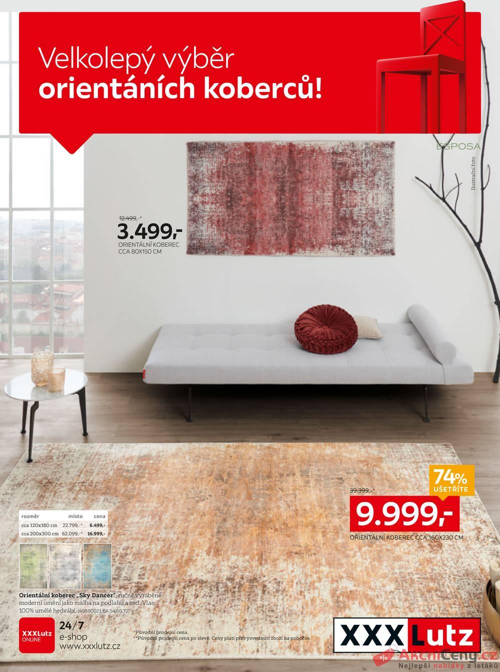 Leták XXXLutz - XXXLutz Koberce od 7.10. do 20.10.2019 - strana 1