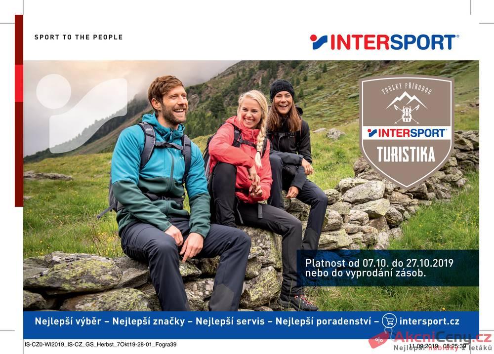 Leták Intersport - Intersport  od 7.10. do 27.10.2019 - strana 1