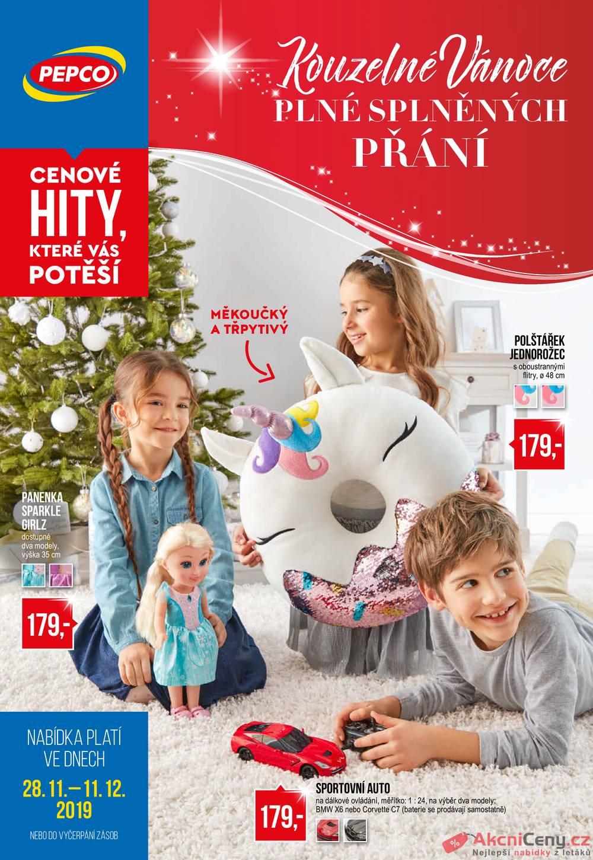 Leták Pepco - Pepco  od 28.11. do 11.12.2019 - strana 1