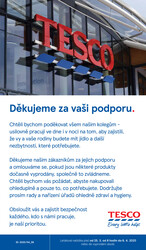 Leták Tesco malé hypermarkety od 25.3. do 6.4.2020