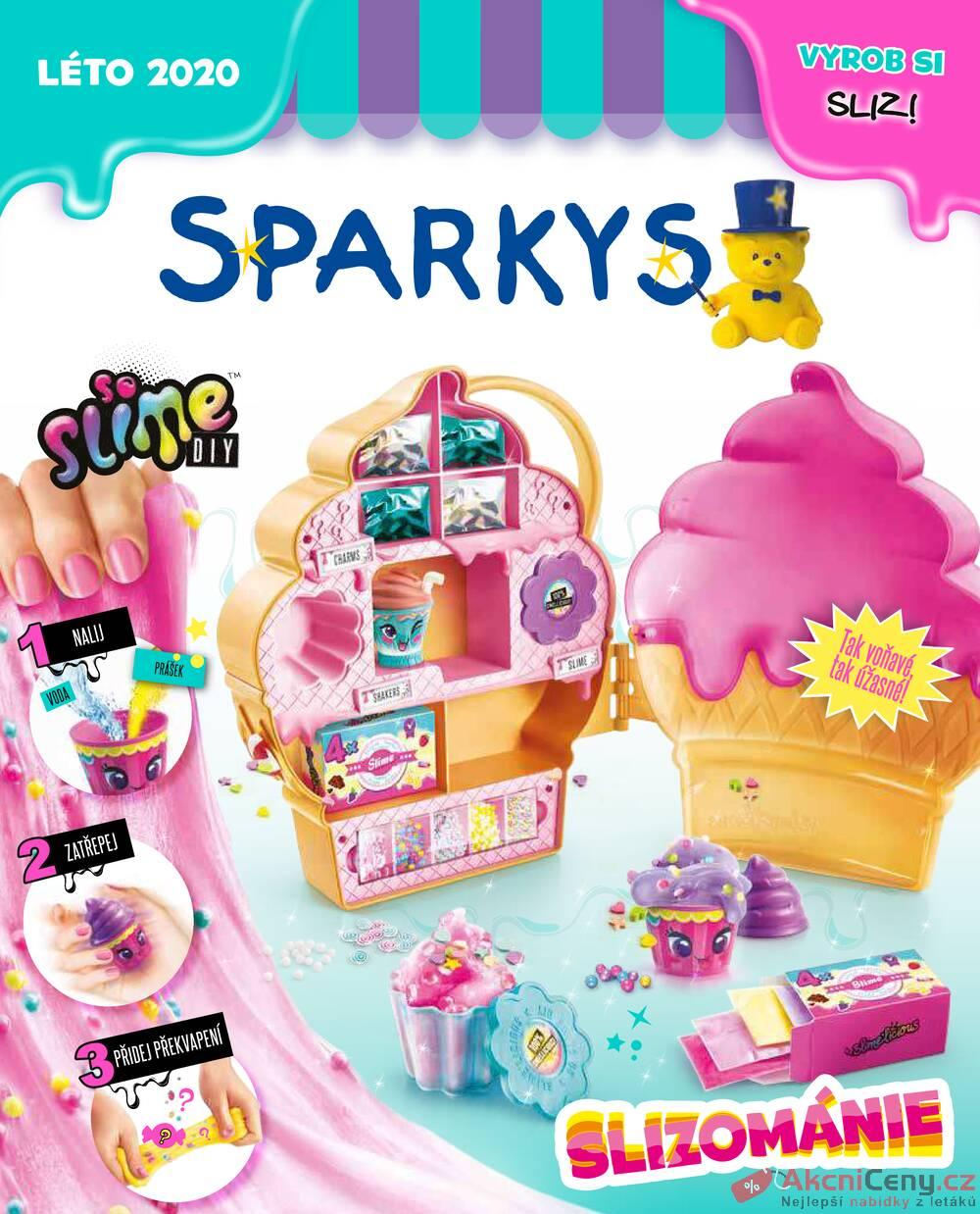Leták Sparkys - Sparkys od 2.5. do 31.8.2020 - strana 1