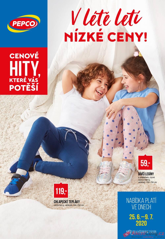 Leták Pepco - Pepco  od 25.6. do 9.7.2020 - strana 1