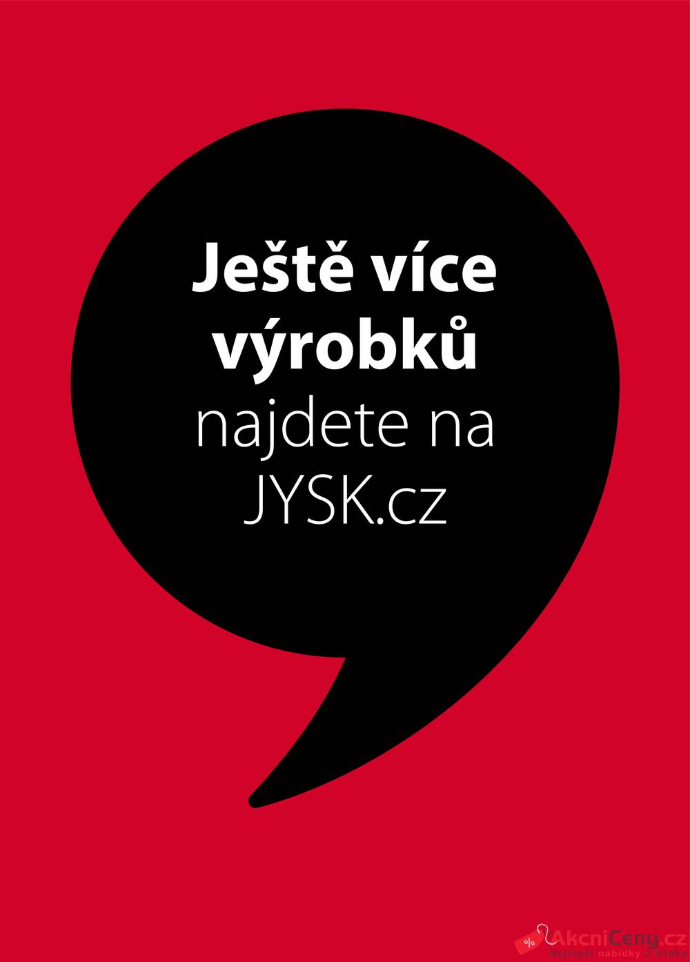 Leták Jysk - Jysk do 8.7. - strana 1