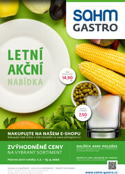 Sahm Gastro : 2 letáky