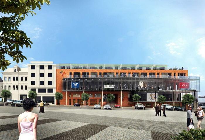 Obchodní Centrum Fontána -