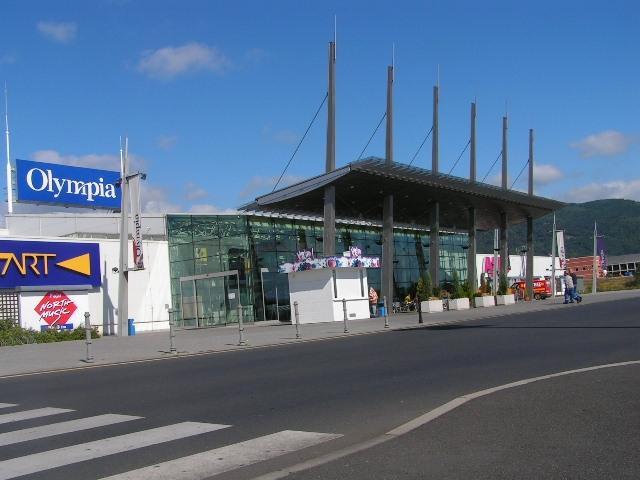Obchodní centrum Olympia - Teplice -