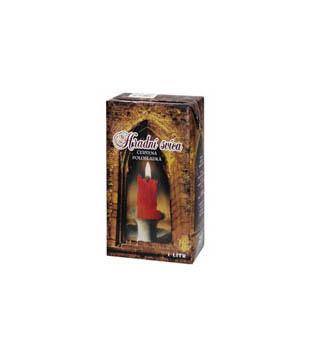Hradní svíce, červené víno