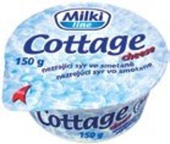 Cottage Milki, sýr ve smetaně