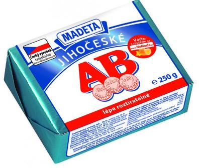 Jihočeské AB máslo v akci