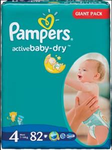 Pampers Active Baby dětské pleny