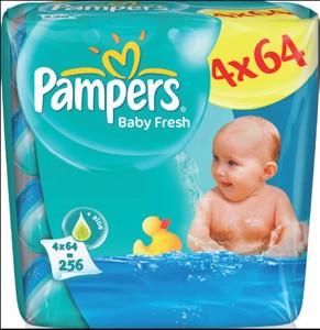Pampers Baby Fresh vlhčené ubrousky