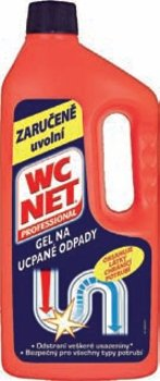 WC Net Professional Gel na ucpané odpady