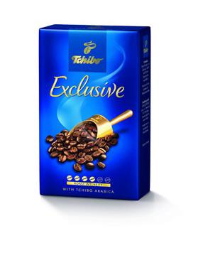 Tchibo Exclusive mletá káva, různé druhy