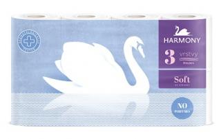 Harmony Toaletní papír 3-vrstvý, vybrané druhy