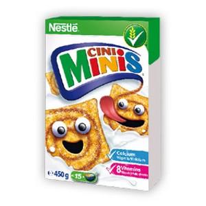 Nestlé cereálie Cini Minis
