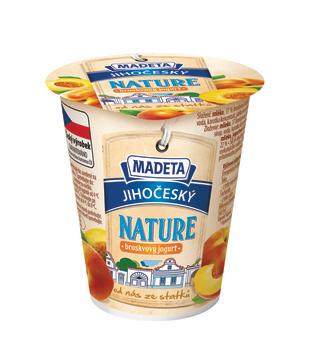 Jihočeský jogurt Nature, ovocný, 2 %