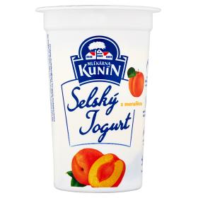 Kunín selský jogurt s příchutí 200g