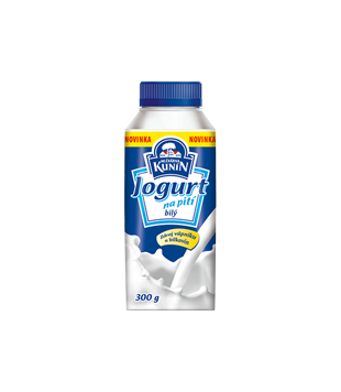 Kunín Jogurt na pití, bílý