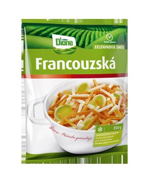 Francouzská mražená zeleninová směs